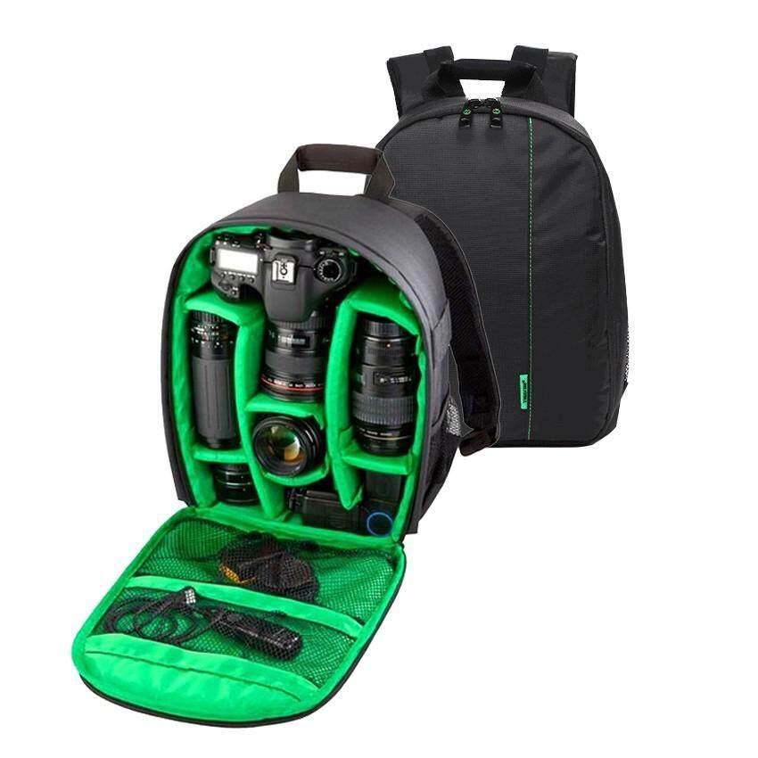 Camera Backpack Bag  กระเป๋าเป้ใส่กล้อง กระเป๋าใส่กล้อง กันน้ำ กระเป๋ากล้อง Dslr Case For Canon/nikon/sony.