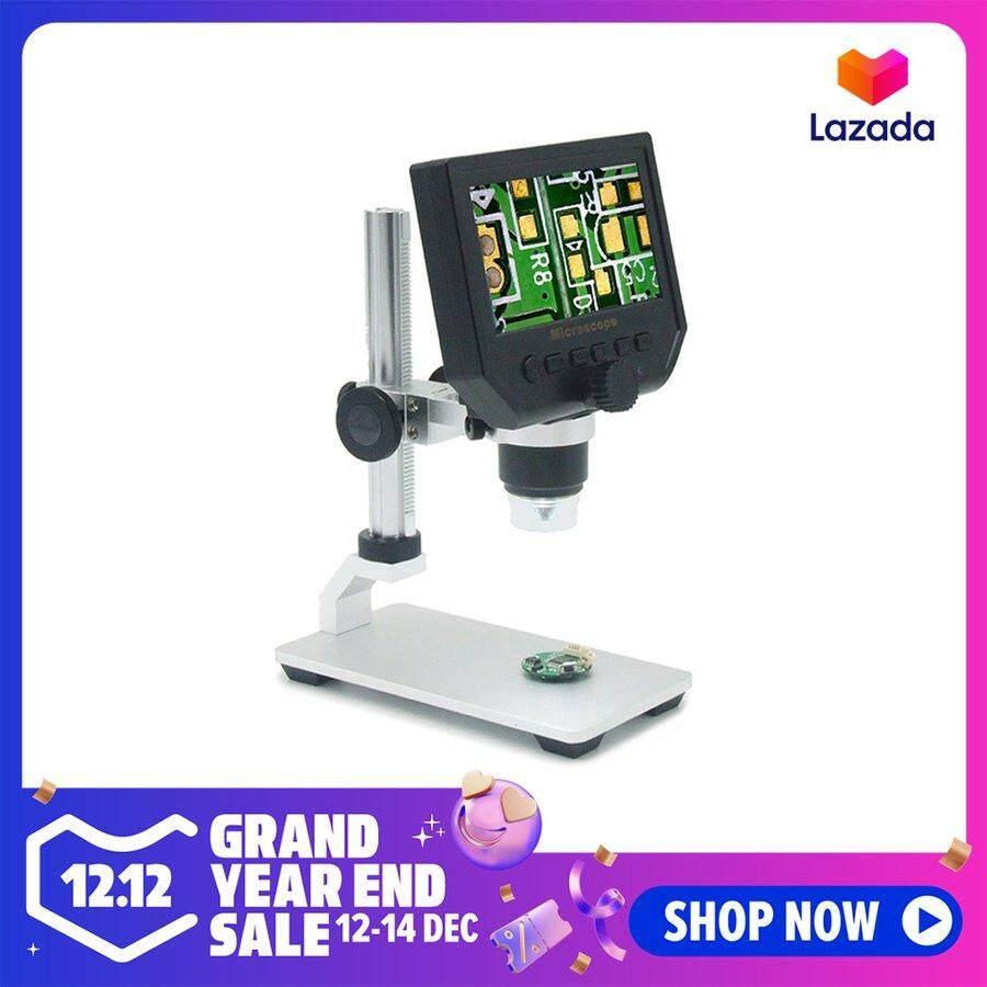 BELLE 1-600X 4.3-Inch 3.6MP Màn Hình LCD Kỹ Thuật Số Kính Hiển Vi Với Đế Kim Loại Đang Có Khuyến Mãi
