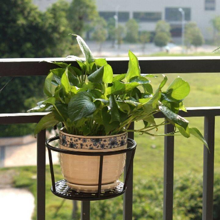 Metal Flower Holder Shelf Stand Hanging Pots Basket Plant Garden Wall Storage Lazada