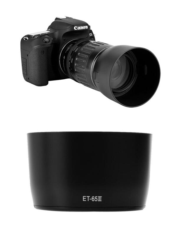 Canon Lens Hood Et-65iii For Ef 85mm F/1.8 Usm, Ef 100mm F/2 Usm.