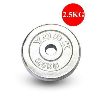 บาร์เบล 2.5 Kg. ดัมเบล  อุปกรณ์ดัมเบล ดัมเบลบาร์เบล แผ่นน้ำหนัก อุปกรณ์ฟิตเนส สำหรับนักกีฬาเพาะกาย หรือ เล่นกล้าม ใช้ได้ทั้งคาน ดัมเบล หรือ บาร์เบล ขนาด 26 มิลลิเมตร สินค้าใช้วัสดุคุณภาพดี มีความทนทานสูง