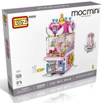 ตัวต่อ LOZ mini micromini BLOCK ลอซ มินิ ม็อกมินิ นาโน ไมโคร บล็อก สวนสนุก เครื่องเล่น ตู้เกม เกมตู้ ตู้คีบตุ๊กตา เครื่องหนีบตุ๊กตา Amusement Park Game Center Arcade Claw Crane Machine - 1721 ของขวัญ วันเกิด จับฉลาก ปีใหม่-