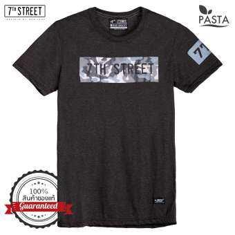 7th Street Graphic T-Shirt เสื้อยืดแขนสั้นแนวสตรีท รุ่น PRG ของแท้ 100%-