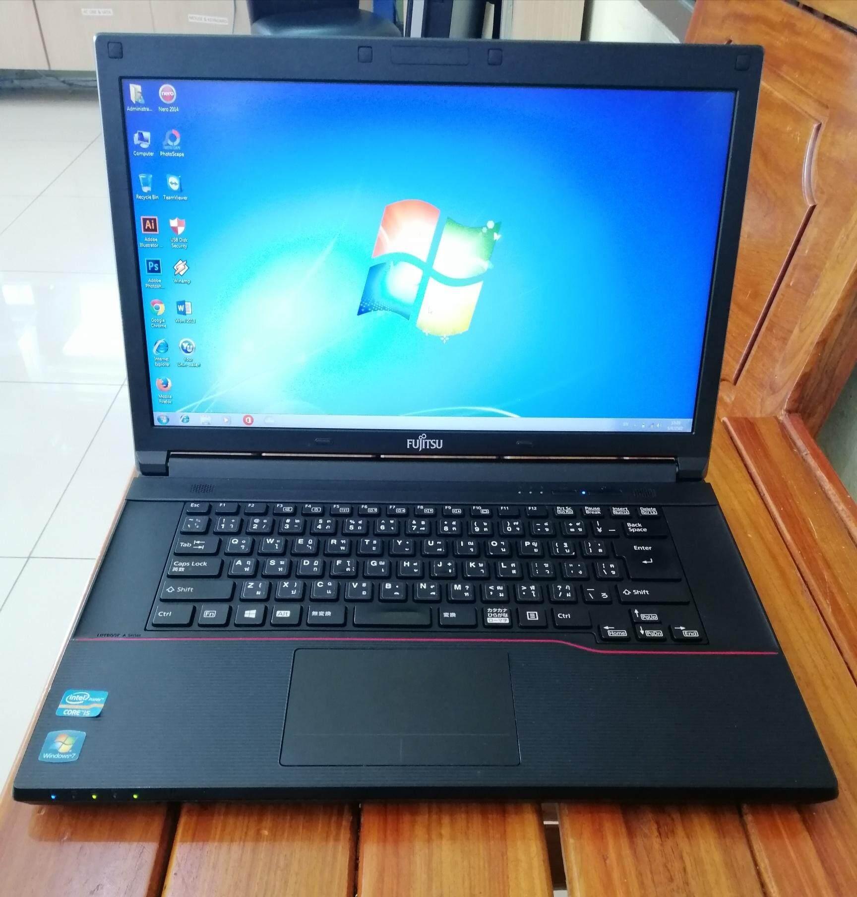 โน๊ตบุ๊ค Fujitsu Core I5 แรม4gb(มีเก็บเงินปลายทาง) By Sunnycomputer.