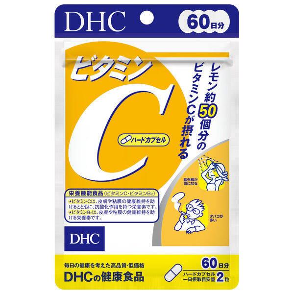 Dhc Vitamin C ดีเอชซี วิตามินซี 60 วัน (1 ซอง / 120 เม็ด).