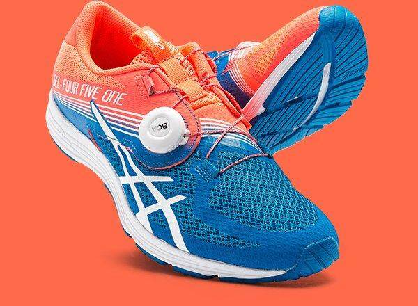 Asics // Gel - 451 // T874n.0601 // Flash Coral/white/directoire Blue (woman) By Asics Outlet.
