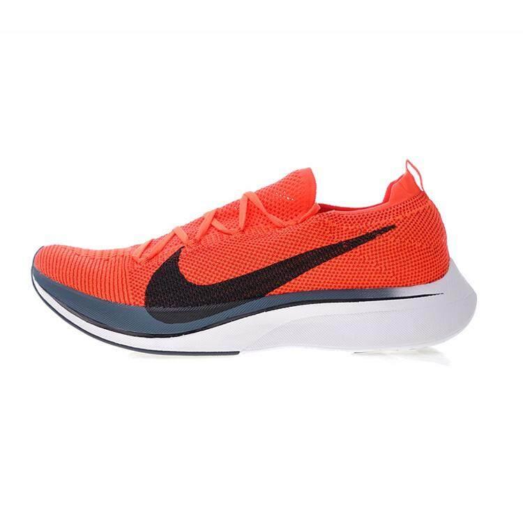 Nike Vaporfly FLYKNIT 4% Pria Sepatu Lari Sport Sepatu Sneaker Luar Ruangan  Olahraga Baru Sepatu 425eb2b03f