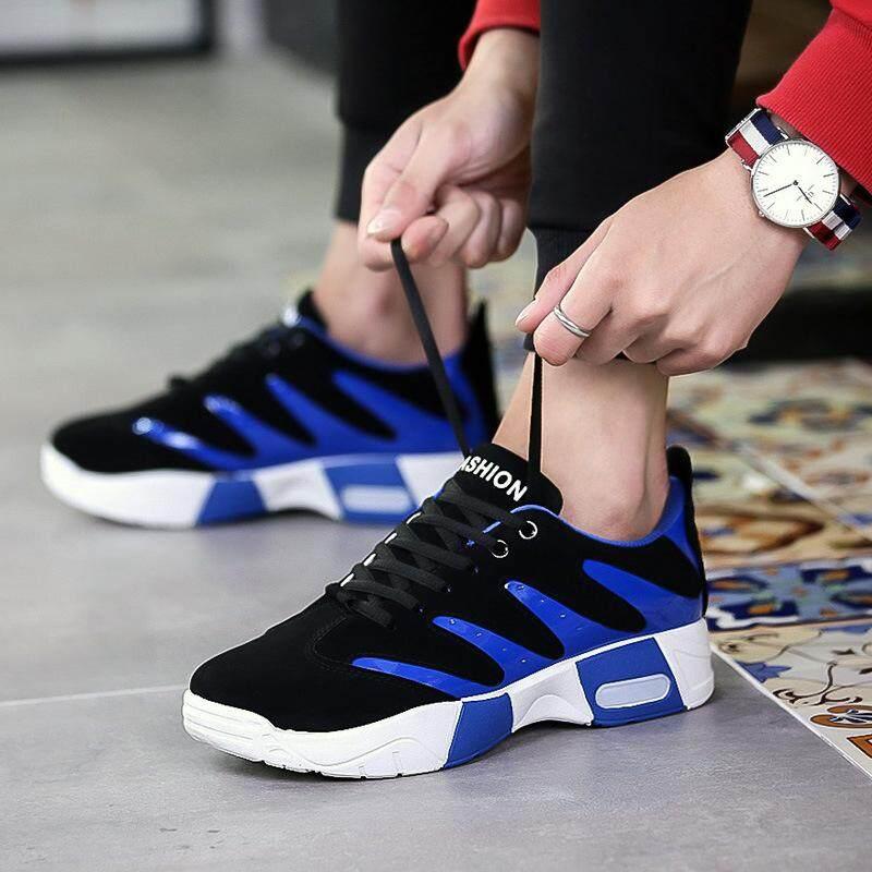 KUK รองเท้าที่ไม่เป็นทางการ รองเท้า รองเท้าผ้าใบ สไตล์เกาหลี รองเท้าผ้าใบสำหรับผู้ชาย รองเท้าส้นแบน XZ058