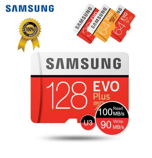 Samsung Micro Sd การ์ด 64 กิกะไบต์ 128 กิกะไบต์การ์ดหน่วยความจำ Evo บวก 64 กิกะไบต์ 128 กิกะไบต์ Class10 การ์ด Tf C10 Microsd Uhs-I U3 จัดส่งฟรี Cartao เดจำ By King Memory Card.