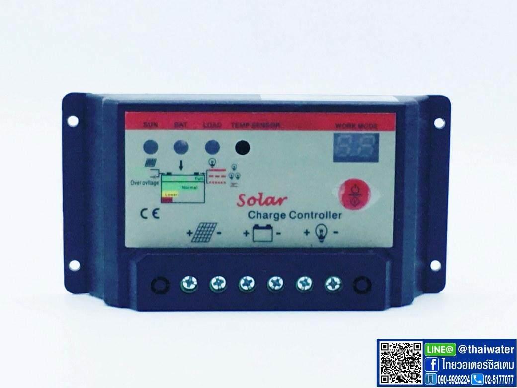 Image 3 for โซล่าชาร์จเจอร์ ( Solar charger ) 20A 12V/24V PWM รุ่น 2024