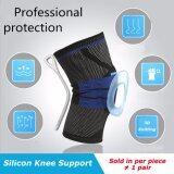 ราคา 1 Pcs Spring Support Silicon Padded Knee Pads Support Brace Meniscus Patella Protector Sports Safety Protection Volleyball Kneepad Intl Unbranded Generic