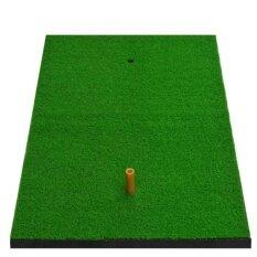 ราคา 1 Piece Backyard Golf Mat 15 7 X27 6 Residential Practice Golf Mat Light Rubber Tee Holder Sports Intl ถูก