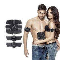 ส่วนลด สินค้า 1 Set Wireless Muscle Stimulator Ems Stimulation Body Slimming Beauty Machine Abdominal Muscle Exerciser Training Device Body Massager Intl