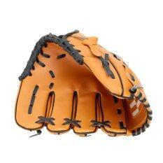 ขาย 26 67ซม 29 21ซม 31 75ซมซอฟท์บอลเบสบอลทีมกีฬากลางแจ้งถุงมือข้างซ้ายสีน้ำตาล ถูก