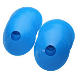 ขาย ซื้อ 10 Pcs Soccer Train Speed Disc Cone Football Cross Training Roadblocks Blue ใน แองโกลา