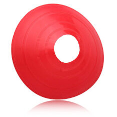 ซื้อ 10 Pcs Soccer Train Speed Disc Cone Football Cross Training Roadblocks Red ถูก ใน สมุทรปราการ