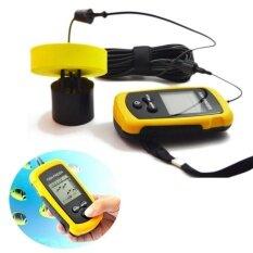 โปรโมชั่น 100 เมตรแบบพกพา Sonar Sensor Fish Finder Fishfinder จับ Transducer Alarm Lcd Unbranded Generic ใหม่ล่าสุด