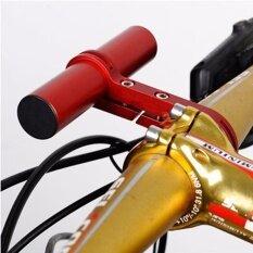 10Cm Handlebar Extension Mount Carbon Fiber Extender Holder For Bike Light Bicycle Speedometer Red Intl ใหม่ล่าสุด