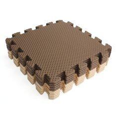 ซื้อ 10X Eva Foam Puzzle Exercise Play Mat Interlocking Floor Soft Tiles 12X12 Intl Unbranded Generic ถูก