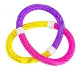ส่วนลด ฮูลาฮูป น้ำหนัก 1 1Kg Thin Waist Abdomen Slimming Beauty Fitness Equipment Three Color Soft Spring Hula Ring Best ไทย