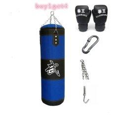 โปรโมชั่น 120 เซนติเมตรมวย Heavy Punching Training ว่างเปล่า ลำลองออกกำลังกายทรายสีฟ้า จีน