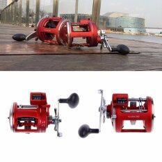 ขาย ซื้อ 12Bb Bearings Baitcasting Fishing Reel Line Wheel Counter Trolling Casting Drum 30D Intl ใน ฮ่องกง