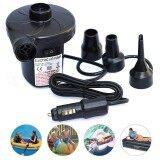 12V Dc Electric Air Pump For Inflatable Air Mattress Beds Boat Toy Raft Pool Intl เป็นต้นฉบับ