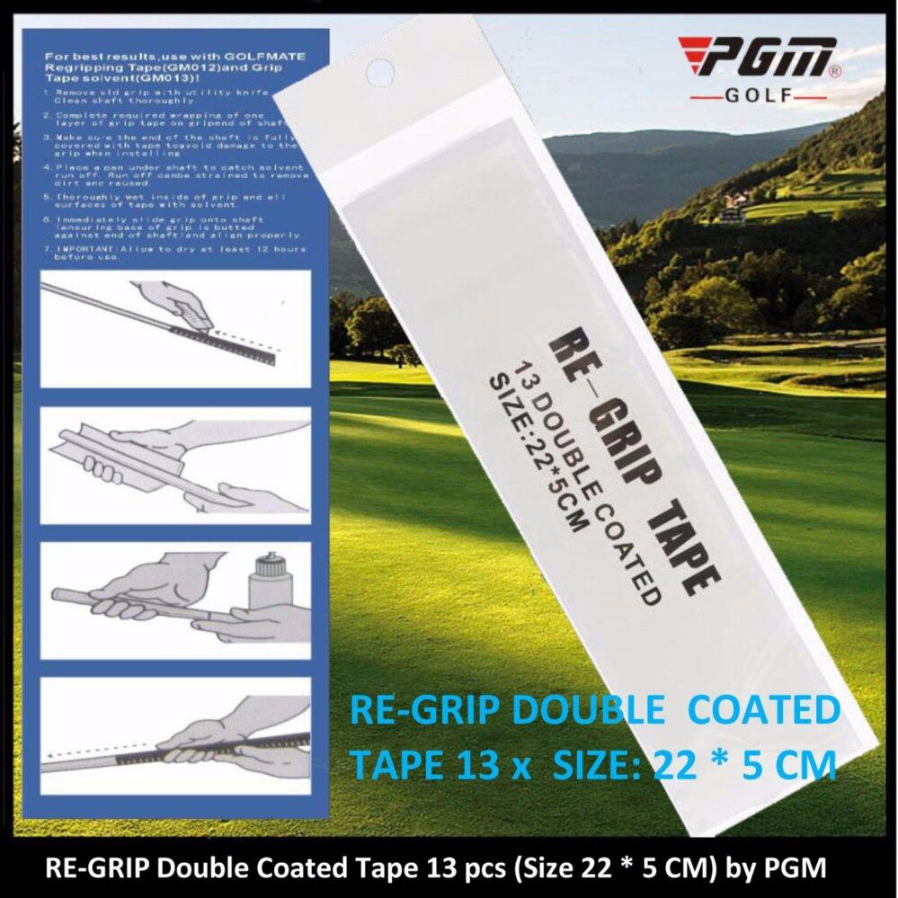 13 x Double Sided Tape Re-Grip your Clubs (Size 22*5 cm) by PGM
