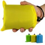 ขาย ซื้อ 140X150Cm Ultralight Pocket Blanket Waterproof Sandproof Mat For Picnic Beach Camping Hiking Traveling Fishing Color Yellow Size 140X150Cm Qimiao Intl
