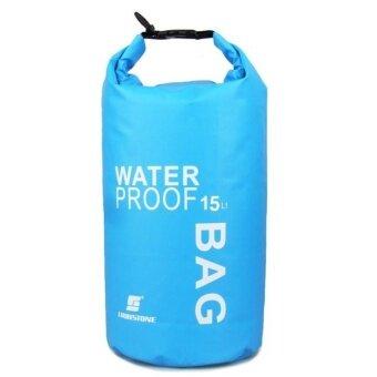 15L Waterproof Storage Dry Bag for Canoe Kayak Rafting Mobile phone camera BU - intl