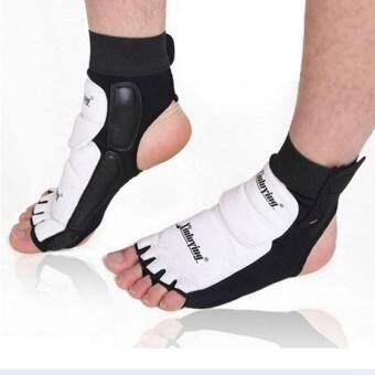 1 คู่ผ้ารัดข้อเท้าปลอกรัดป้องกันบาดเจ็บ GUARD ถุงเท้าป้องกัน MMA/มวยไทย/มวย