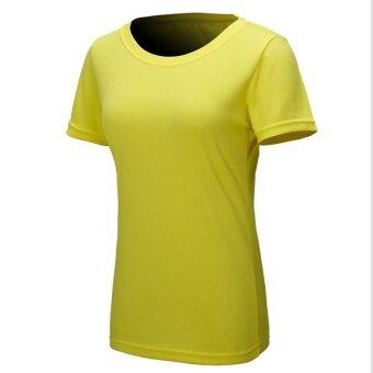 1 ชิ้นกลางแจ้งผู้หญิงชุดกีฬากระโปรงสั้นสีเหลือง/เอ็ม - นานาชาติ