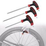 ซื้อ 1Set Of Durable Bike Hex Wrench Multi Functional Tool Long Handled Allen Key Wrenches Intl ใหม่ล่าสุด