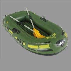 ซื้อ ชุดเรือยางซีฮ็อว์ค 2 ที่นั่ง รุ่น 200 พร้อมพายอลูมิเนียมและที่สูบลมดับเบิ้ลควิ๊ก (สีเขียว) ออนไลน์