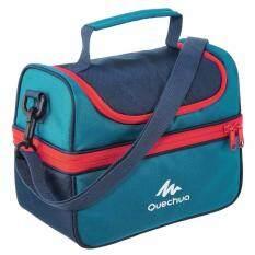 ซื้อ กระเป๋าใส่อาหารเก็บความเย็นเพื่อการเดินป่า พร้อมกล่องอาหาร 2 ใบ ขนาด 4 4 ลิตร สีฟ้า ใหม่ล่าสุด