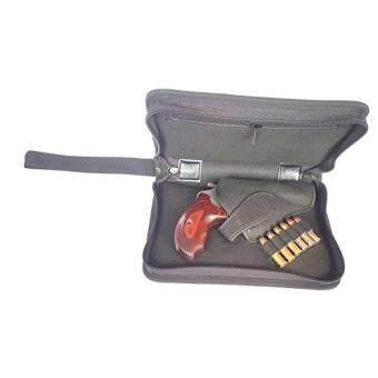 กระเป๋าใส่ปืนสั้นอย่างดีแบบผ้า น้ำหนักเบา สำหรับปืนลูกโม่ ขนาด 2 นิ้ว
