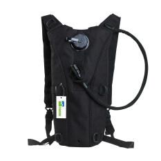 ราคา 2 5L Hydration Pack Water Backpack Bladder Bag Black ใน จีน
