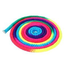 2.8 เมตรสีสันจังหวะเชือกยิมนาสติกศิลปะเชือกฝึกซ้อม - Intl