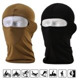 ราคา 2 Pack Lycra Balaclava Outdoor Face Masks Sports Riding Masks Quick Dry Headwear Climbing Uv Protection Versatile Bandana Sahariane ใหม่ล่าสุด
