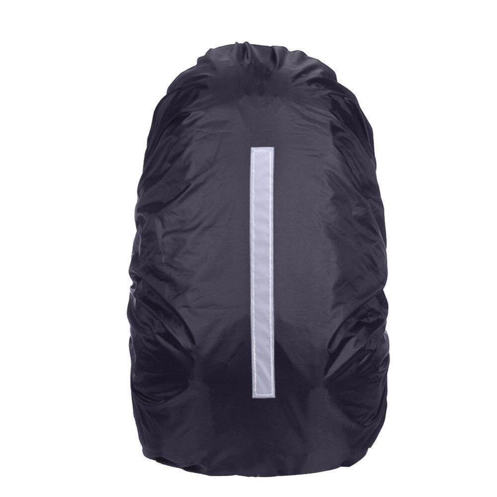 20-45L Reflective Waterproof Rain Dust Backpack Bag Cover Safety Travel - intl