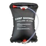 ซื้อ 20 L 5Gallon Solar Camping Shower Portable Outdoor Bath Bag Hiking Pvc Water Bag Intl ใหม่ล่าสุด