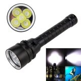 ราคา 2000Lm T6 Led Diving Flashlight Underwater 100M Waterproof Dive Torch Light Strap Intl ถูก
