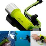 ขาย ซื้อ 2000Lm Waterproof Diving Flashlight Fluorescent Underwater Torch With Hand Strap Green Intl ใน Thailand