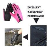 ราคา 2016 Best Quality Windproof Outdoor Sports Skiing Touch Screen Glove Cycling Motorcycle Gloves M Rose ใหม่ล่าสุด