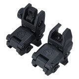 20Mm Rail Gen1 2Pcs Tactical Folding Front Rear Flip Up Backup Sights Set ใน จีน