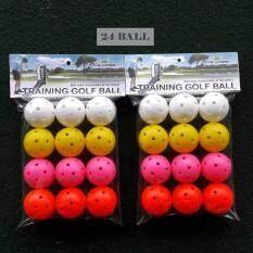 ส่วนลด สินค้า ลูกกอล์ฟฝึกซ้อมพลาสติก 24ลูก