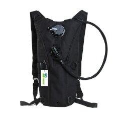 โปรโมชั่น 2 5ลิตรใส่กระเป๋าเป้กระเป๋าถุงน้ำความชุ่มชื้น สีดำ ถูก