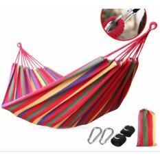โปรโมชั่น 2Cool 200 80Cm Camping Hammock Breathable Canvas Camping Lounge Indoor Hammocks For Holiday Intl