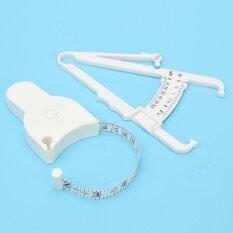 ขาย 2Pc Personal Body Fat Caliper Mass Measuring Tape Tester Fitness Weight Loss Intl ออนไลน์ จีน