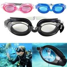 3 ใน 1 แว่นตาว่ายน้ำสระว่ายน้ำว่ายน้ำสำหรับผู้ใหญ่เด็ก-นานาชาติ.
